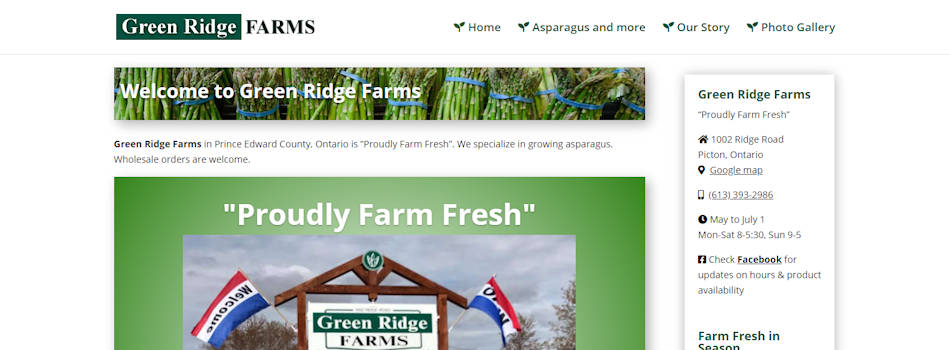 Green Ridge Asparagus Farm